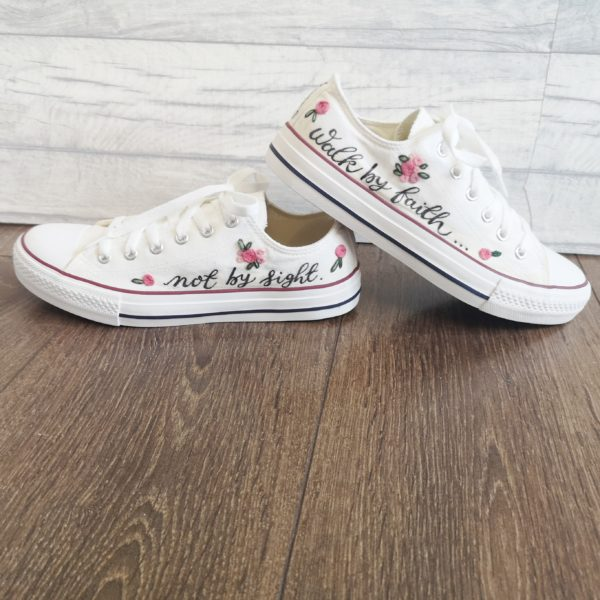 DotK Design, Customisable Canvas Low Top Trainers