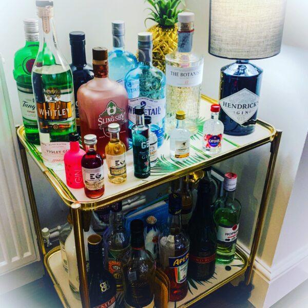 gin_pourium, hendricks gin bottle lamp