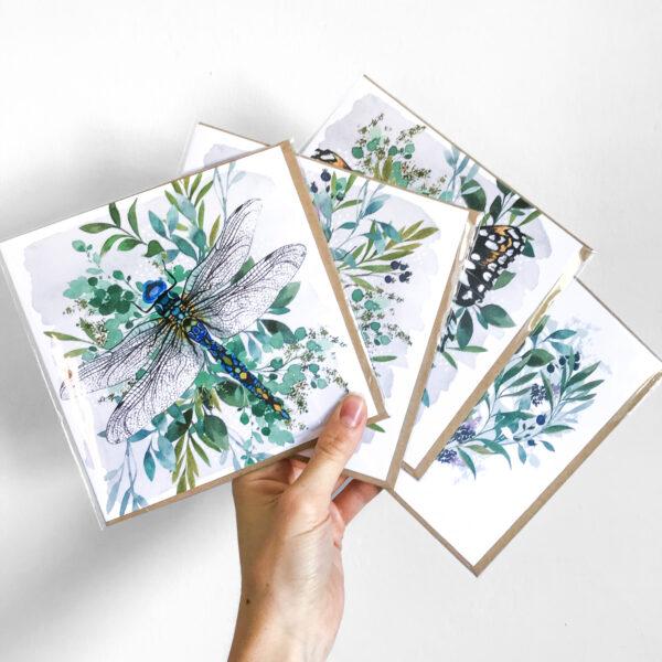 Laura Elizabeth Illustrations - Botanical Greetings Cards