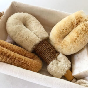 Dry Body Brushes and coconut foot brush - ELYTRUM