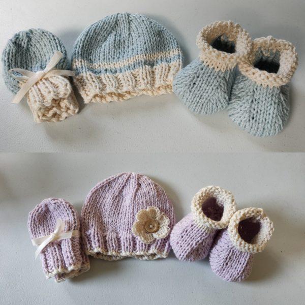 Daisy Dumpling, Newborn Baby Organic Cotton Gift Sets