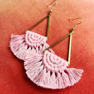 The Scout's Den Macrame Earrings