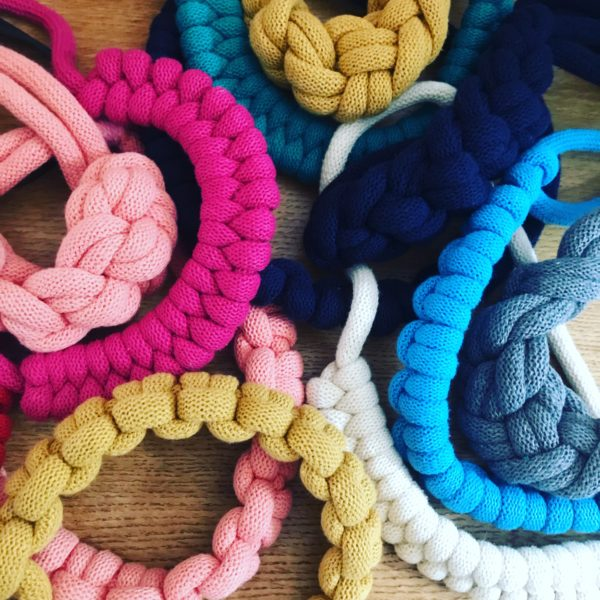 Loups, Statement rope necklaces in various bright colours