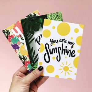 A6 Positive Greeting Cards Multipack
