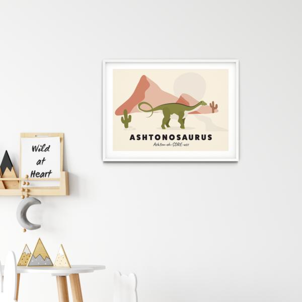 Personalised Dinosaur Names