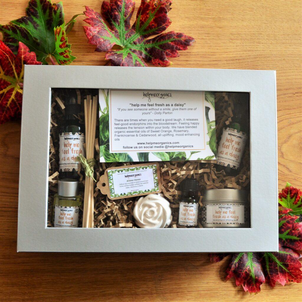 Helpmeorganics Uplifiting Happy Gift Box