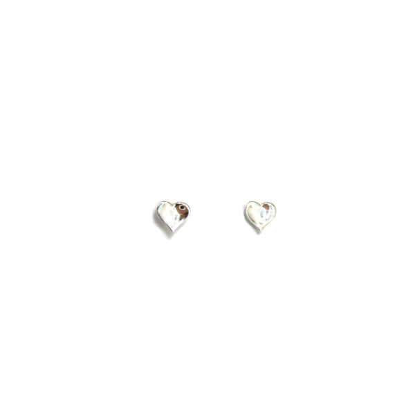 Heart mini stud earrings Design Vaults