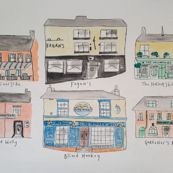 Personalised Pubs - A4 or A3