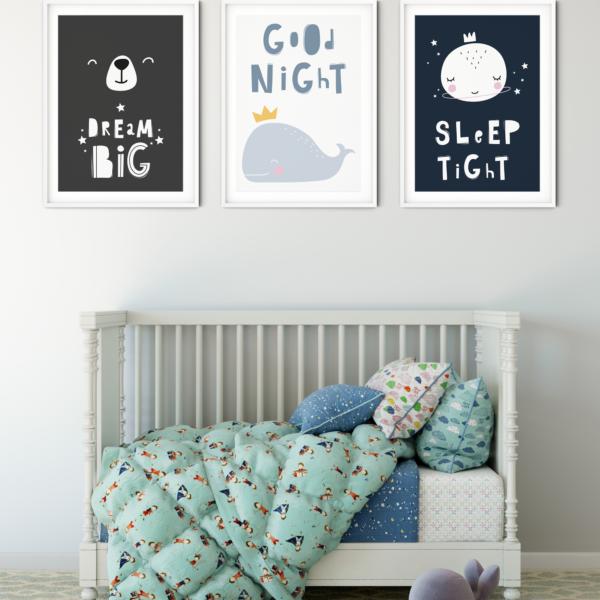 Nursery Wall Art For Newborns