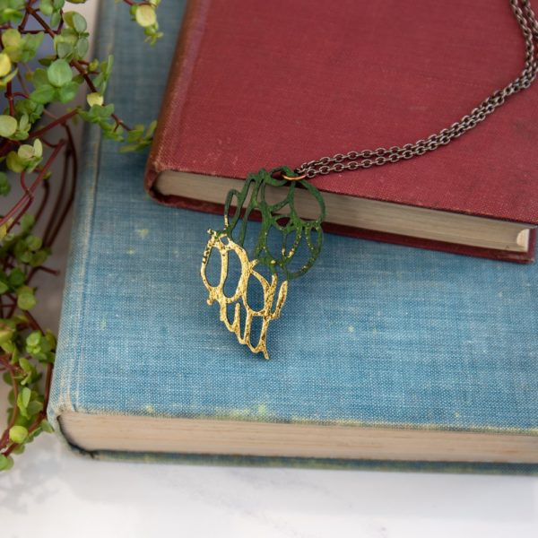Peach Plot Once Upon a Time Necklace