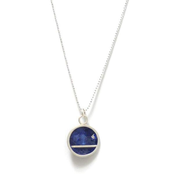 Sterling silver bar necklace Design Vaults