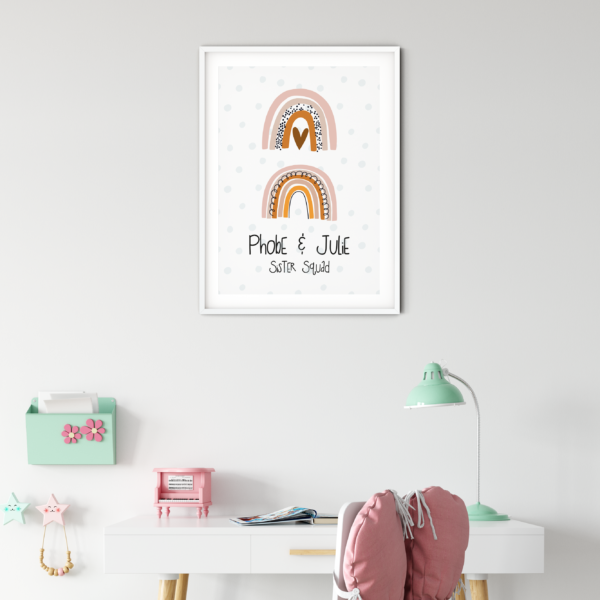 Personalised Wall Art Decor For Girls