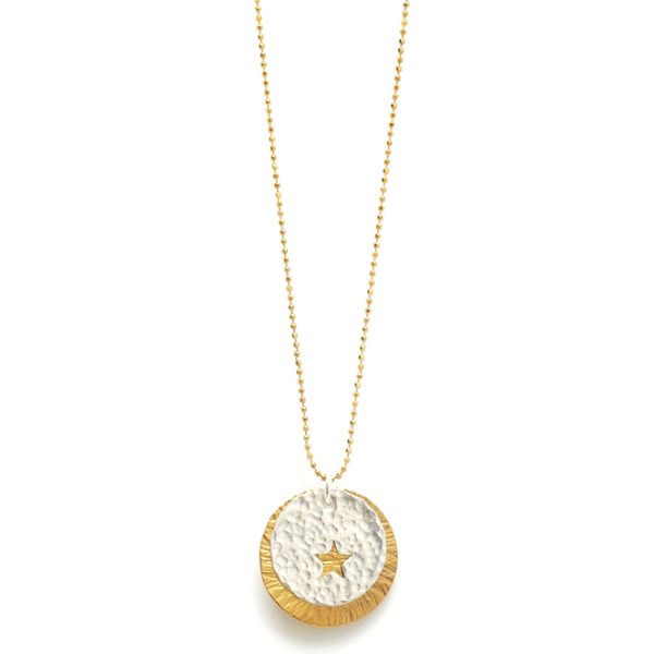 Peek a Boo Star Sunburst Necklace Design Vaults