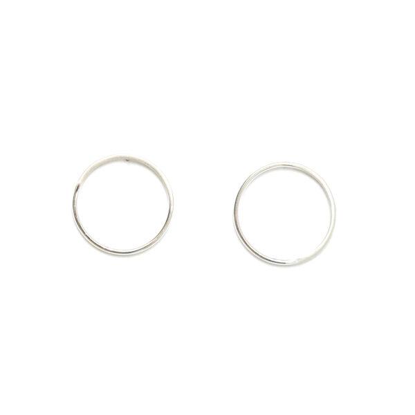 Sunburst Stud Earrings Silver Design Vaults