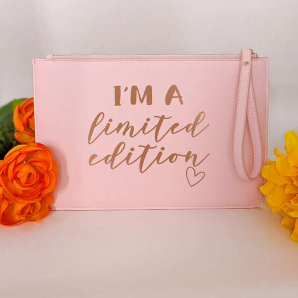 HappyToteQuotes, I'm A Limited Edition Clutch Bag
