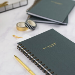 Nothing But Lovely, Three Happy Thoughts Gratitude Journal