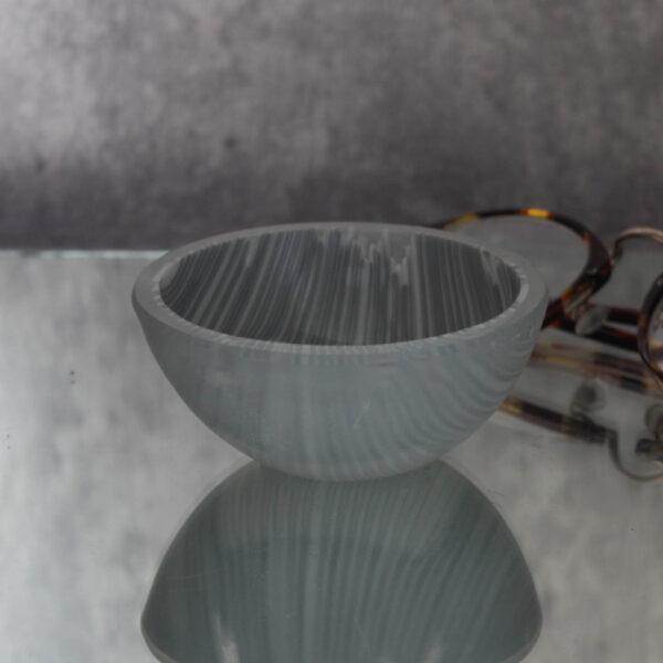 Boardwalk vanilla striped bowl by Bridget Marchi