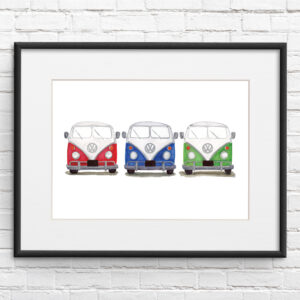VW Camper van - Three in a Row