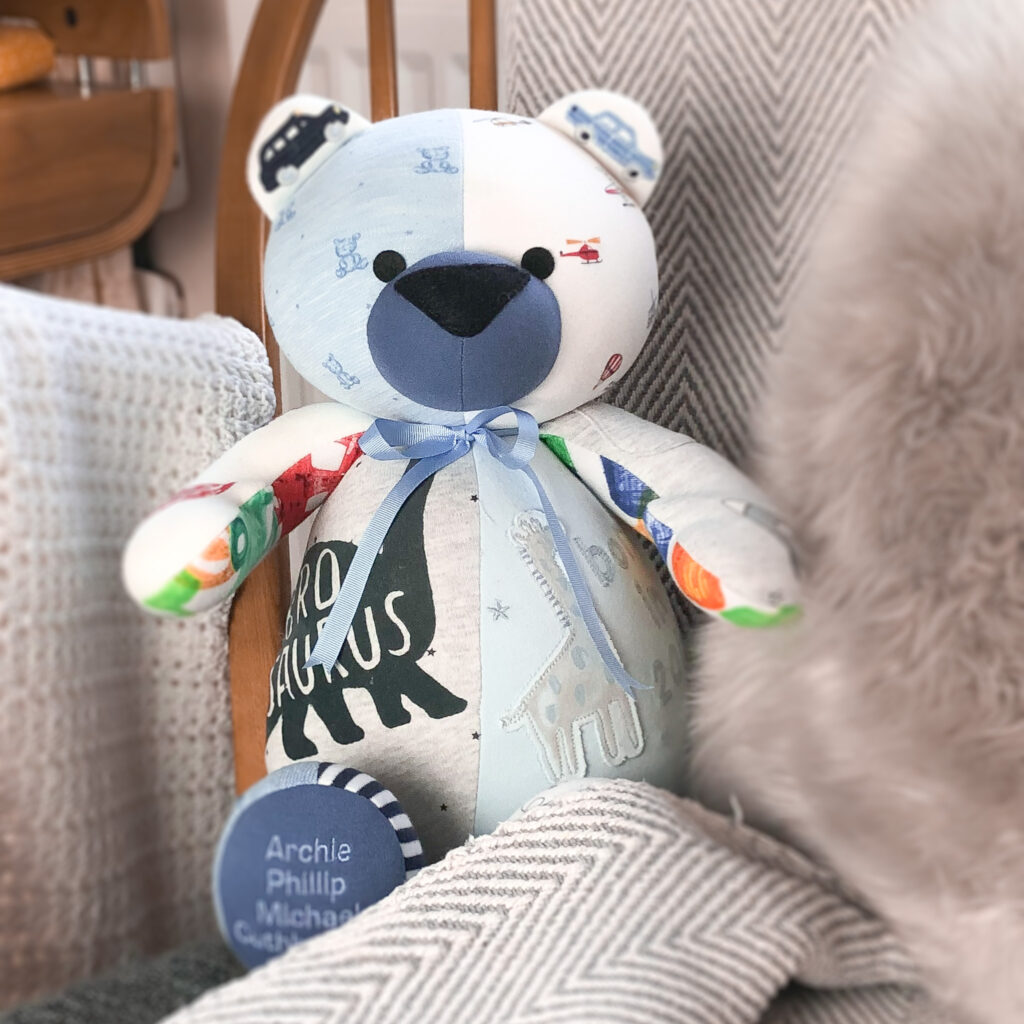 My Ooo Bear, Memory Keepsake Bear
