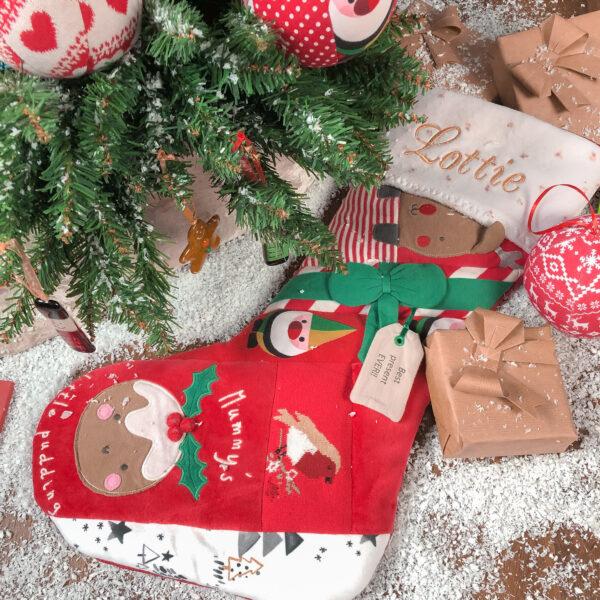 My Ooo Bear , My Stooocking, Christmas Stocking