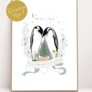Amy Olivia Harris - Personalised New home Print