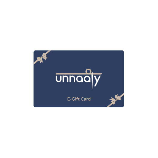 Unnaaty, E-Gift Card