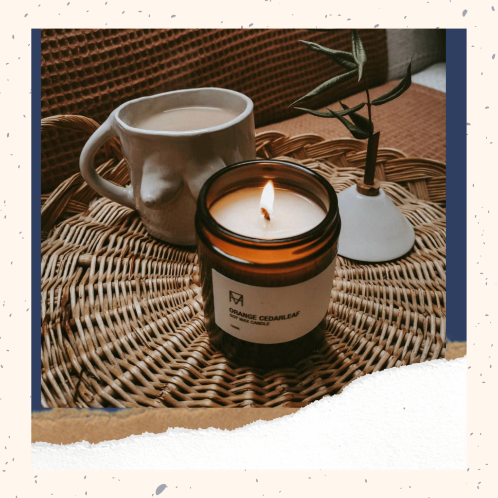 Unnaaty, Phthalate Free Candle