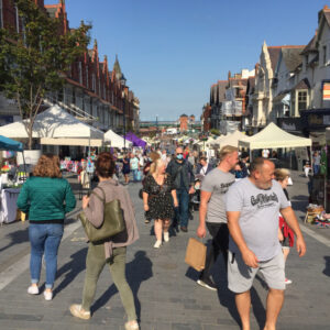 artisan market, colwyn bay, station road