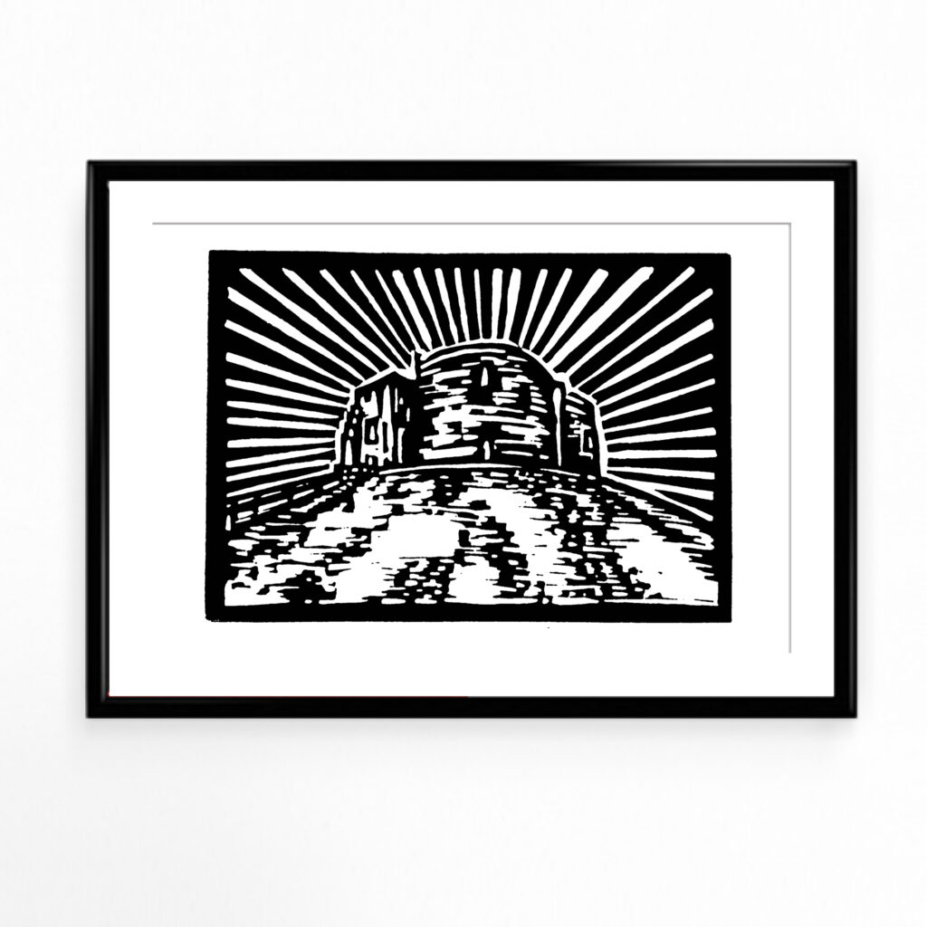MarcoLooks, Clifford's Tower Print, York