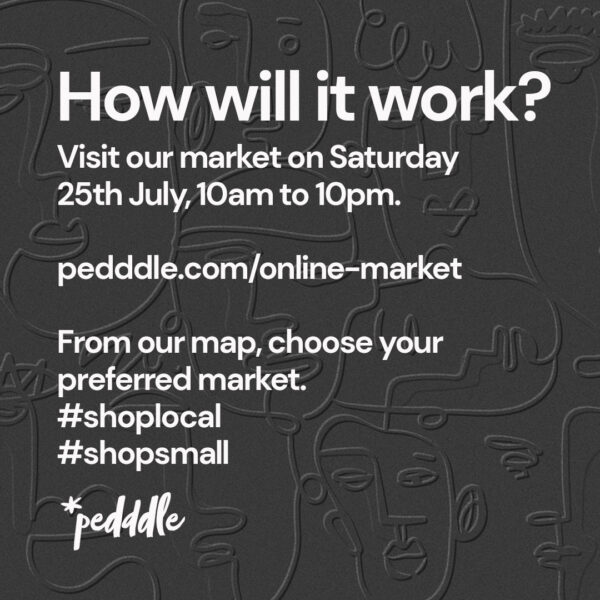 The Pedddle Local Online Markets, how it will work.