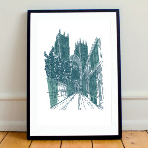 MarcoLooks, York Minster Print