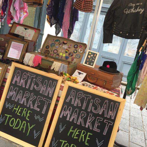 artisan market, colwyn bay, market stall