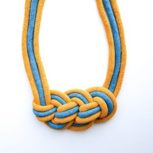 Knotted Statement Necklace