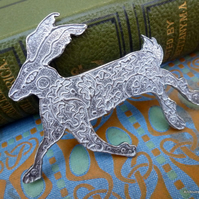 Archives Crafts Crafts-Hare-brooch-pin