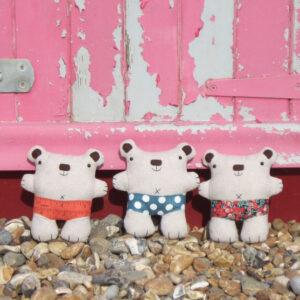 Handmade linen toys