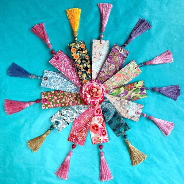 Anastacia Tohill Art, Bookmarks, Bookmarker, Book Gifts, Japanese Bookmark, Decorative Bookmark, Decorative Paper, Japanese