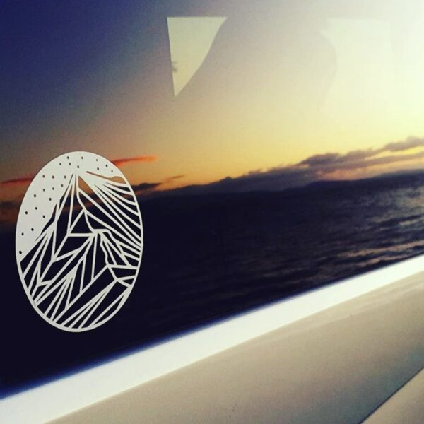 Go Your Own Way, Helvellyn Logo Decal