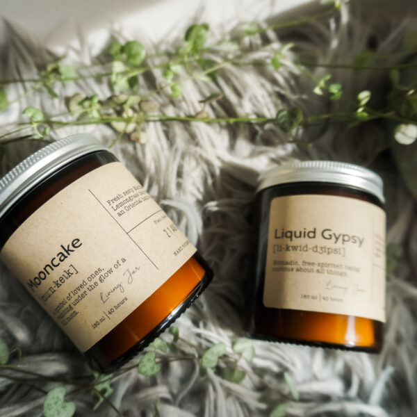 Living Jar, Hand Poured Natural Candles, Classic Candle Gift set