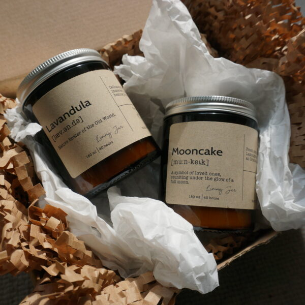 Living Jar, Hand Poured Natural Candles, Classic Candles