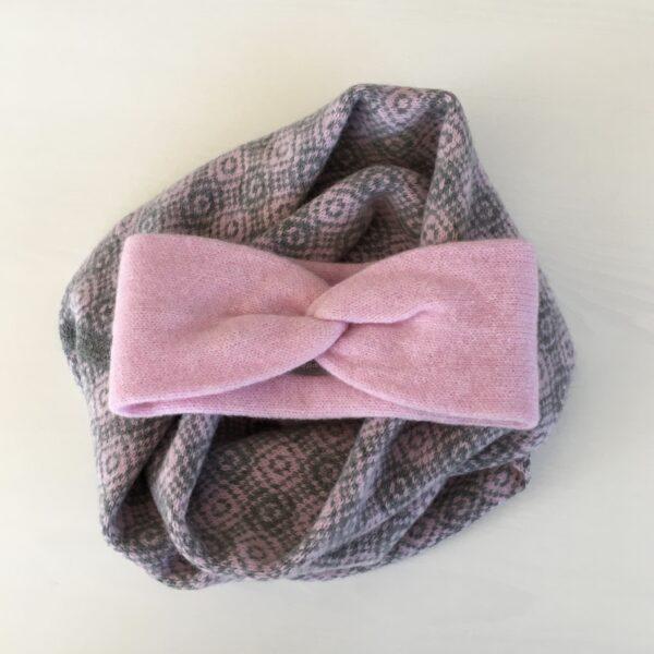 Gift set headband and snood
