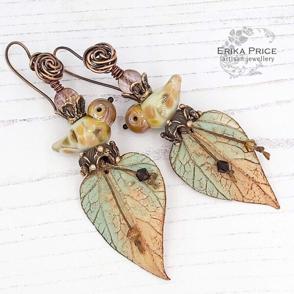 Erika Price Autumn Hedgerow Earrings