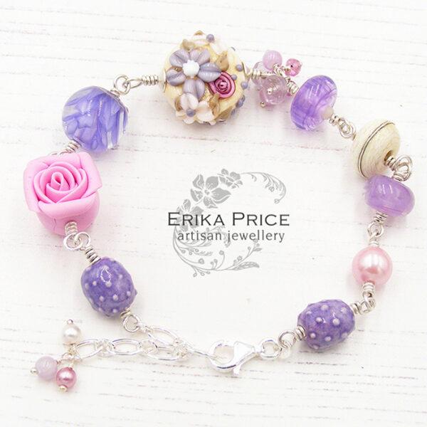 Erika Price Floral Bracelet