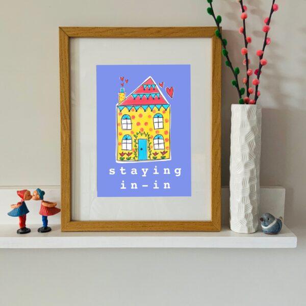 A4 home print - unframed