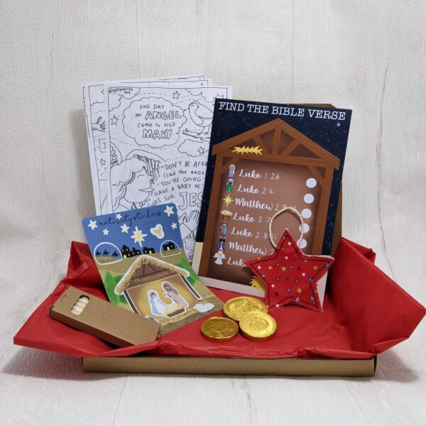 Fabric Nativity Activity Box!