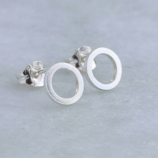 Aimi Cairns Jewellery, Silver halo stud earring