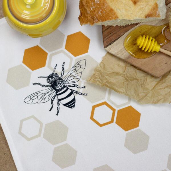 Natalie Laura Ellen, Honey Bee tea towel