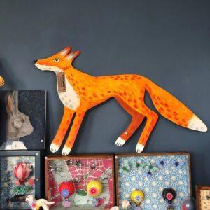 Bonker*s Clutterbucks - Ferdinand The Painted Wooden Fox