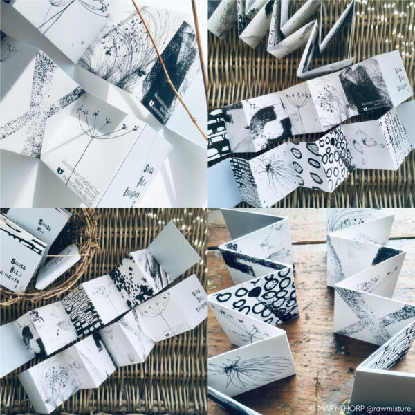 RAW MIXTURE PUBLISHING, Small Wild Thought, artists book
