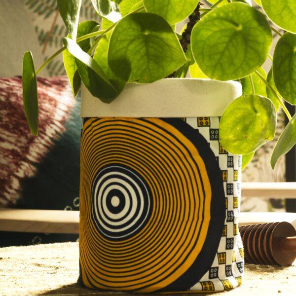 Osime Home fabric storage pots