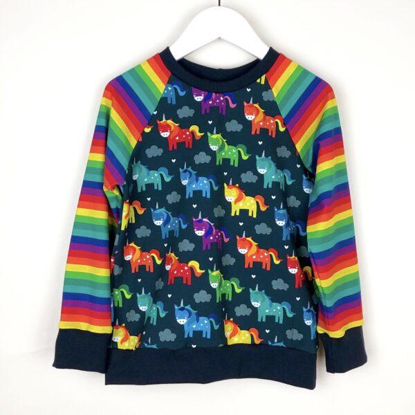 Rainbow Unicorn Top